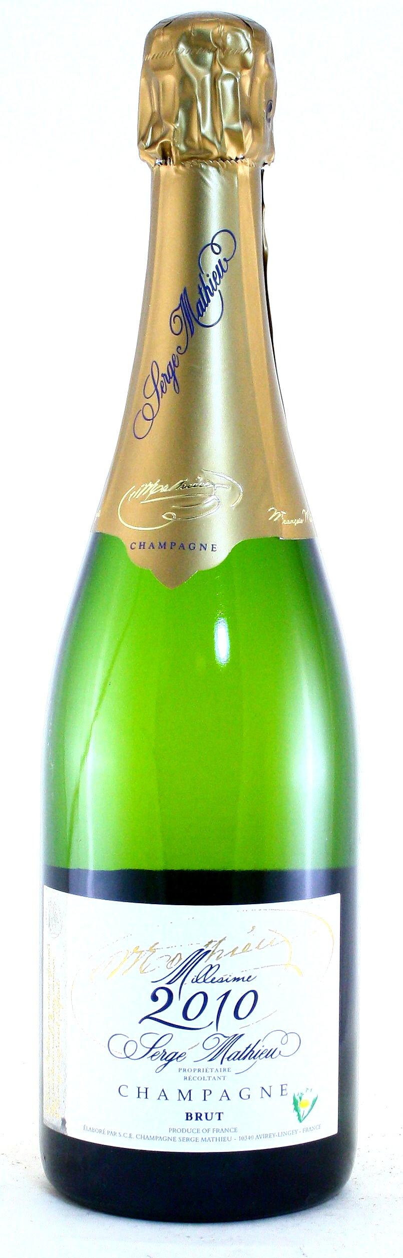 Champagner Millesime 2010 Serge Mathieu