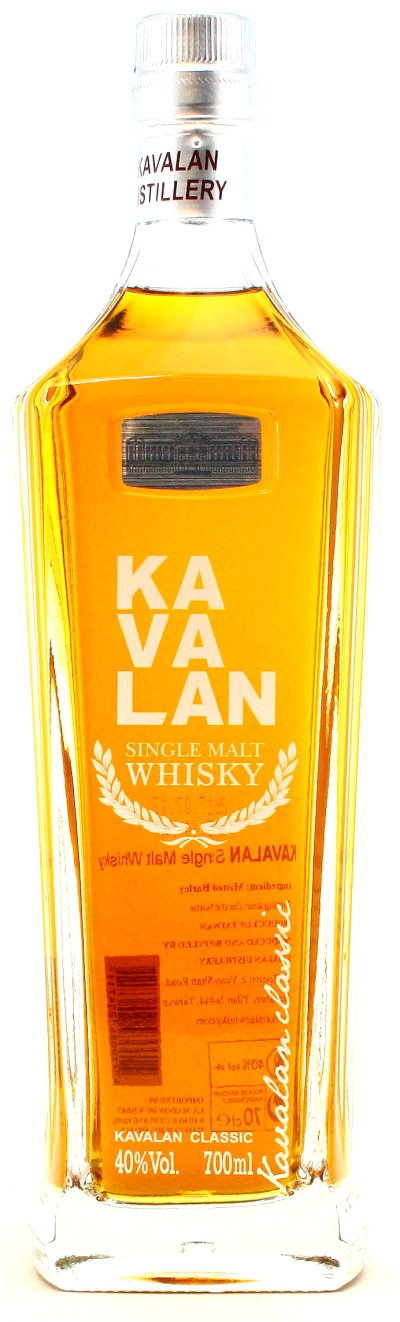 Kavalan Single Malt, Taiwan