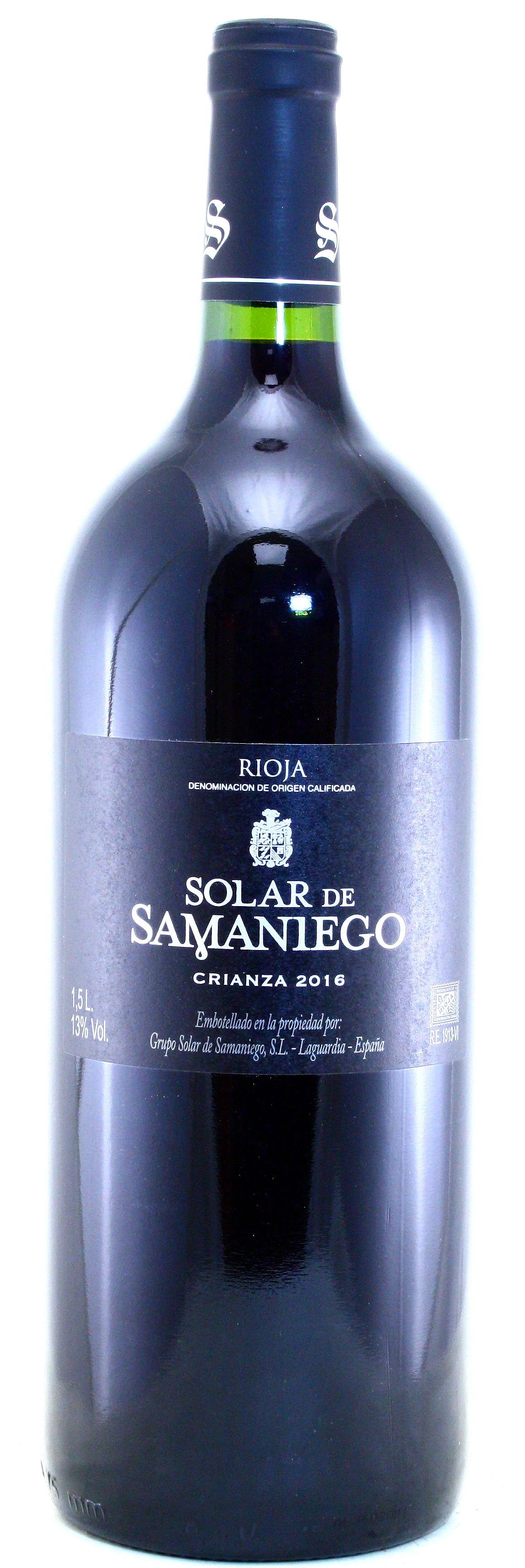 Solar de Samaniego Rioja Crianza - MAGNUM -, Bodegas Alavesas