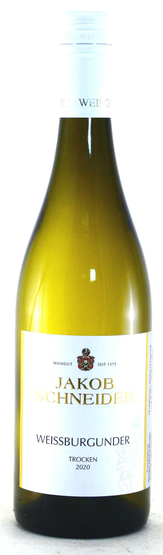 2020, Weißburgunder trocken, Weingut Jakob Schneider, Nahe