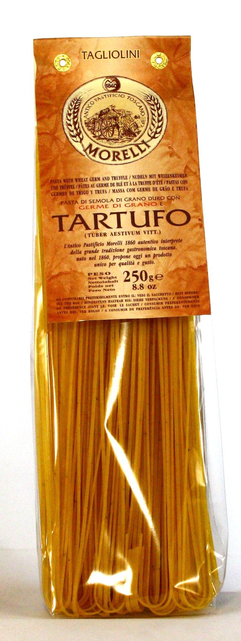 Linguine al Tartufo - Trüffelnudeln, Morelli