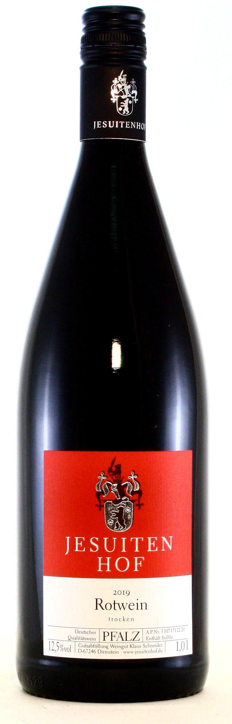 1 Liter Rotwein trocken, Jesuitenhof