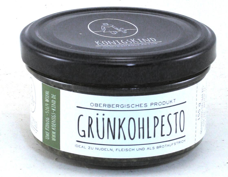 Grünkohlpesto, Oberbergisches Produkt, Genussmanufaktur Königskind