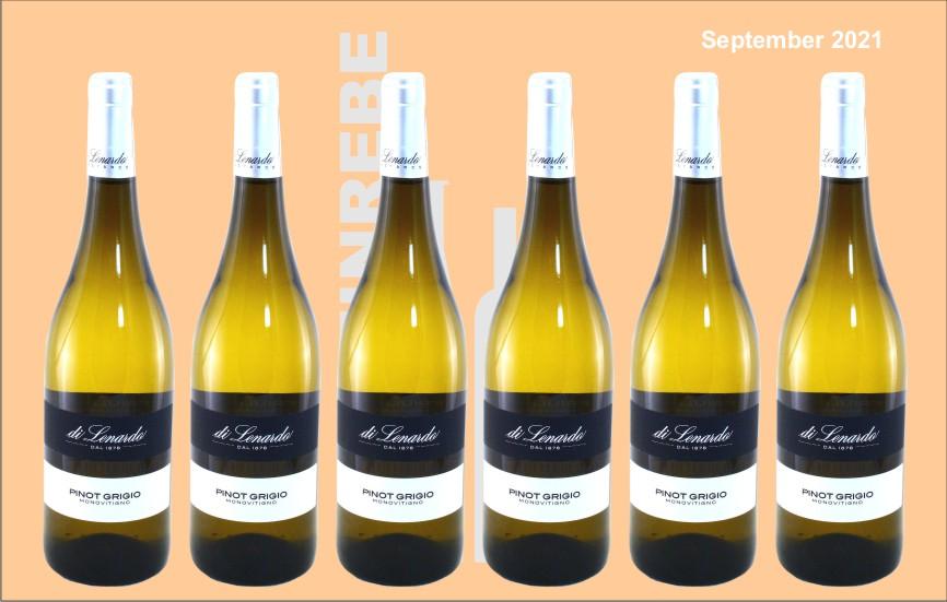 6er Karton 2020 Pinot Grigio, di Lenardo, Friaul/Italien