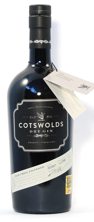 Cotswolds Dry Gin, England