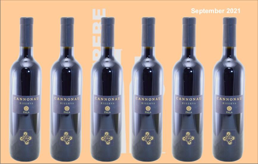 6er Karton 2017 Cannonau Riserva, rot, Pala, Sardinien, Italien