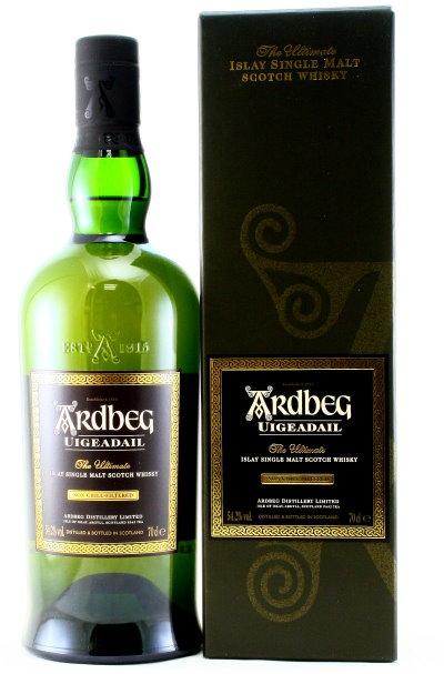 Ardbeg Uigeadail, Islay Single Malt Whisky, Schottland