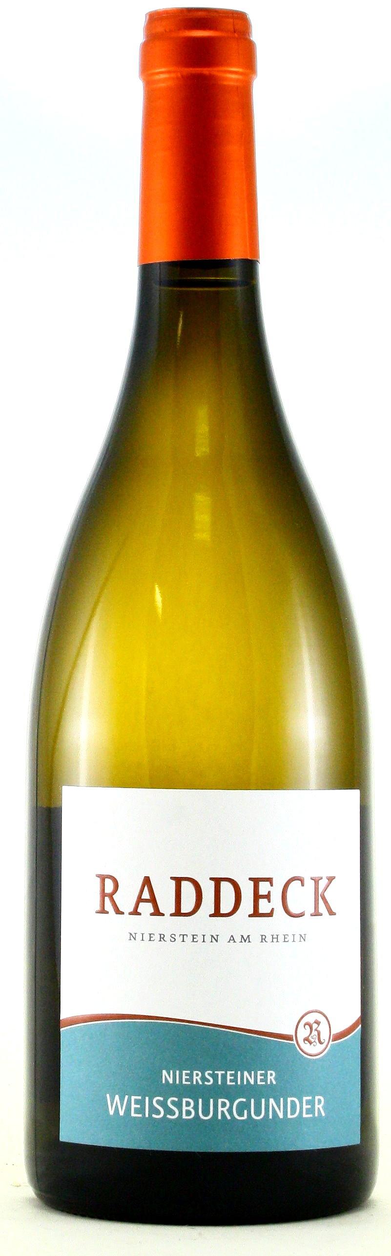 Niersteiner Weißburgunder, trocken, Weingut Raddeck