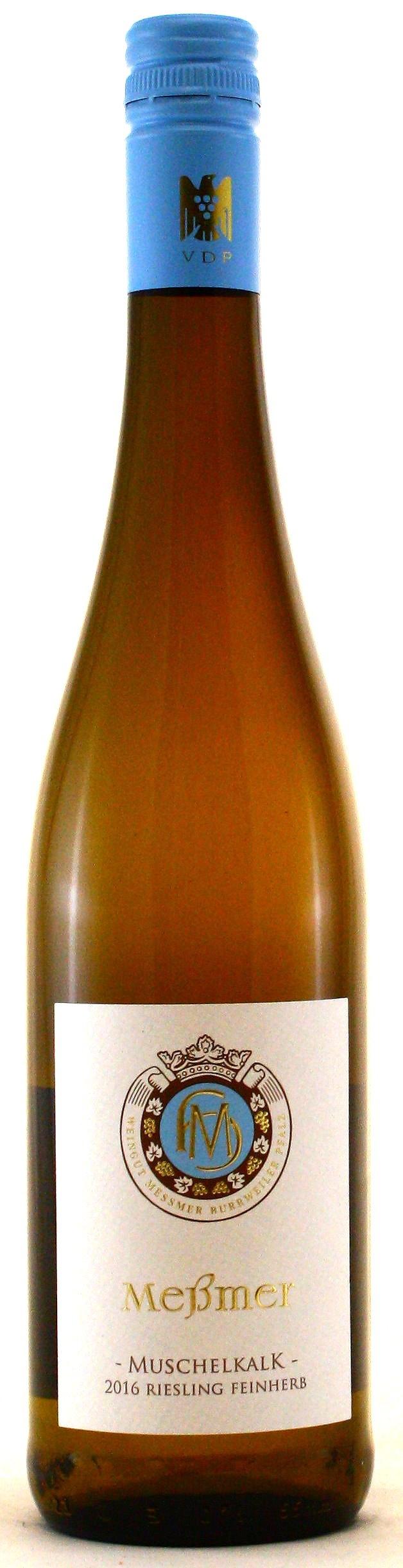 Riesling Muschelkalk, Gutsabfüllung Weingut Meßmer -feinherb-
