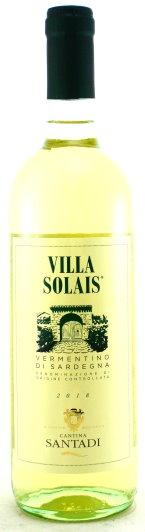 2020 Villa Solais, Vermentino di Sardegna, Cantine Santadi