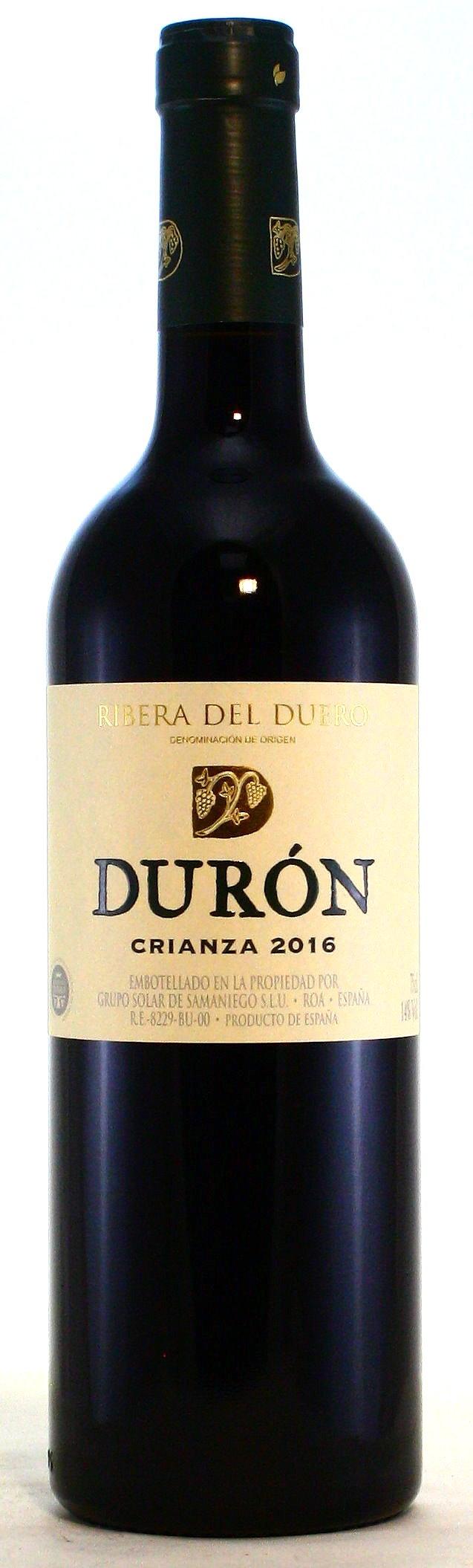 Duron Ribera del Duero Crianza, Bodegas Duron - Solar de Samaniego