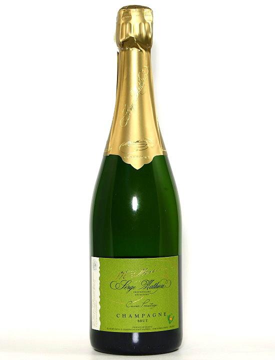Champagner Cuvée Prestige Serge Mathieu