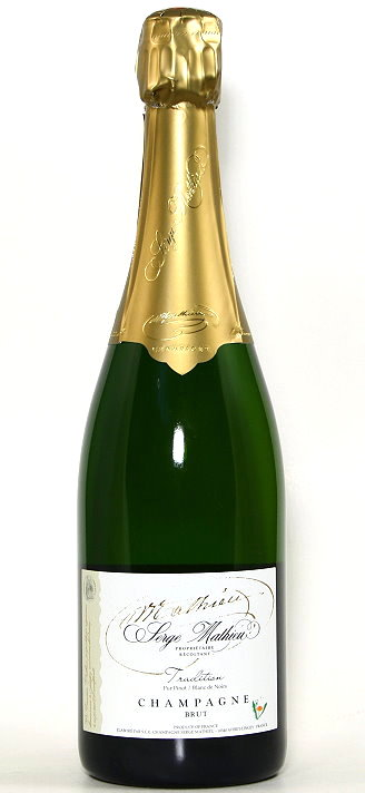 Champagner Tradition Pur Pinot, Serge Mathieu