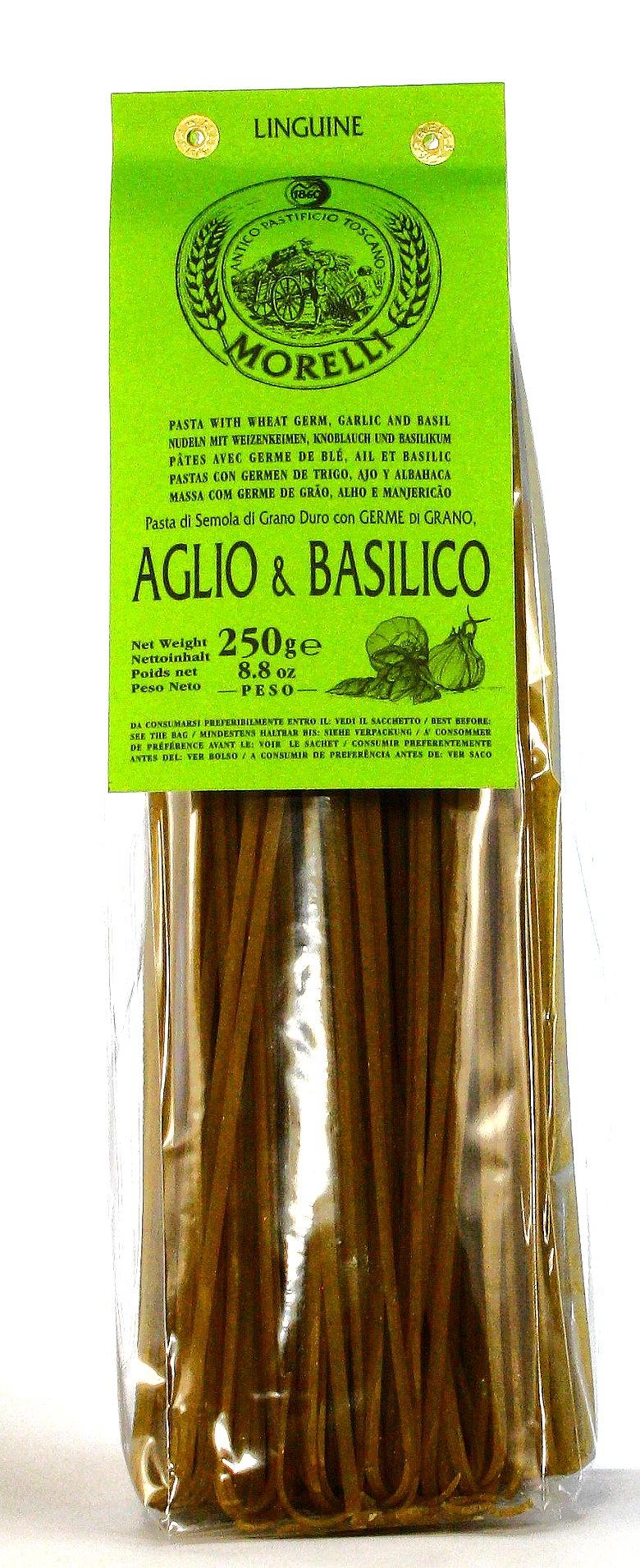 Linguine Aglio & Basilico - Nudeln, Morelli