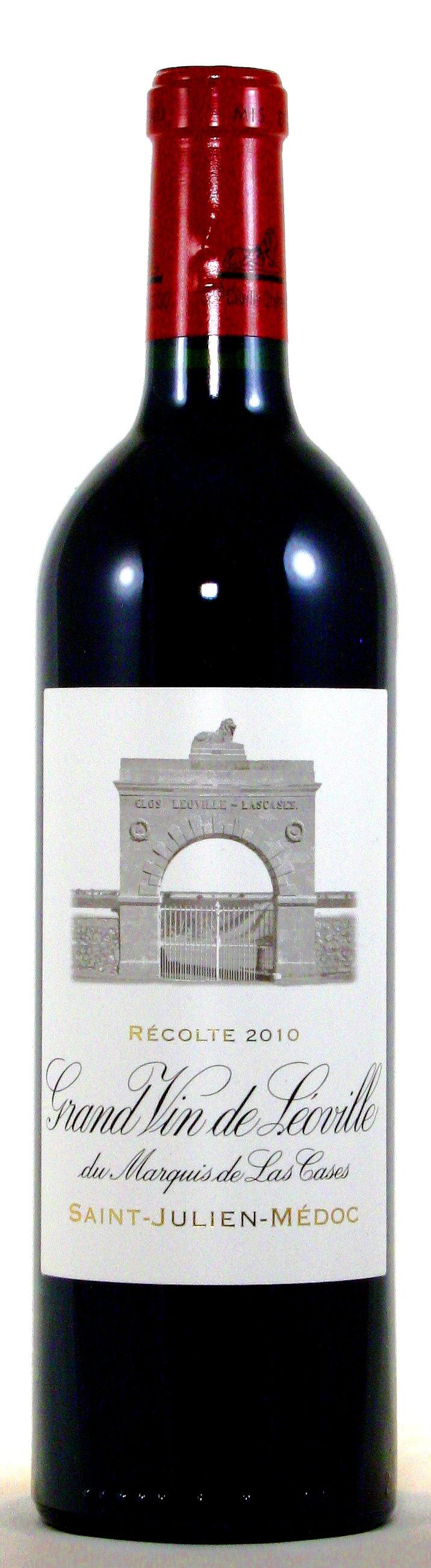 2010 Château Léoville las Cases, 2. Grand Cru Classé Saint Julien, Médoc Bordeaux