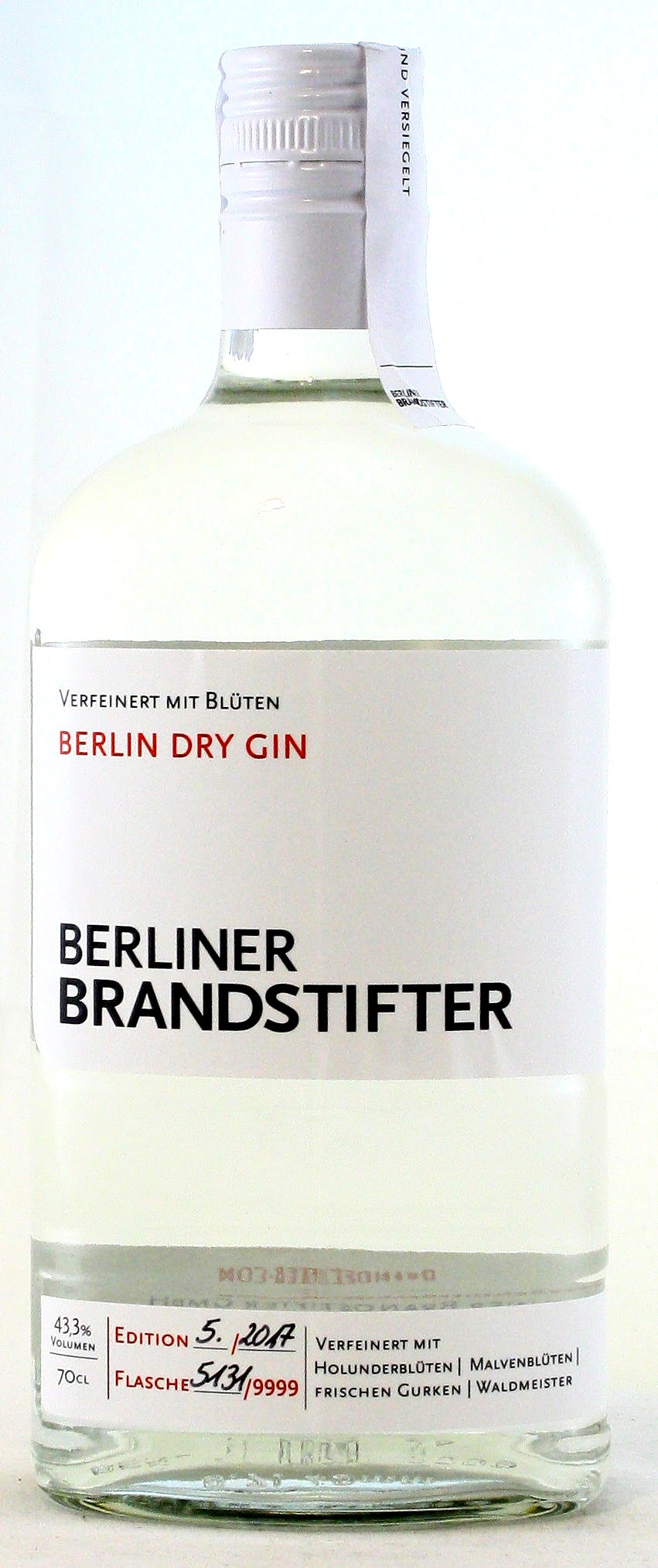 Berliner Brandstifter, Dry Gin, Deutschland