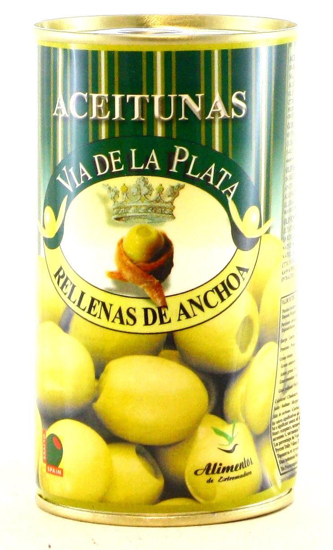 Olivas Rellenas de Anchoa - Oliven mit Anchovis