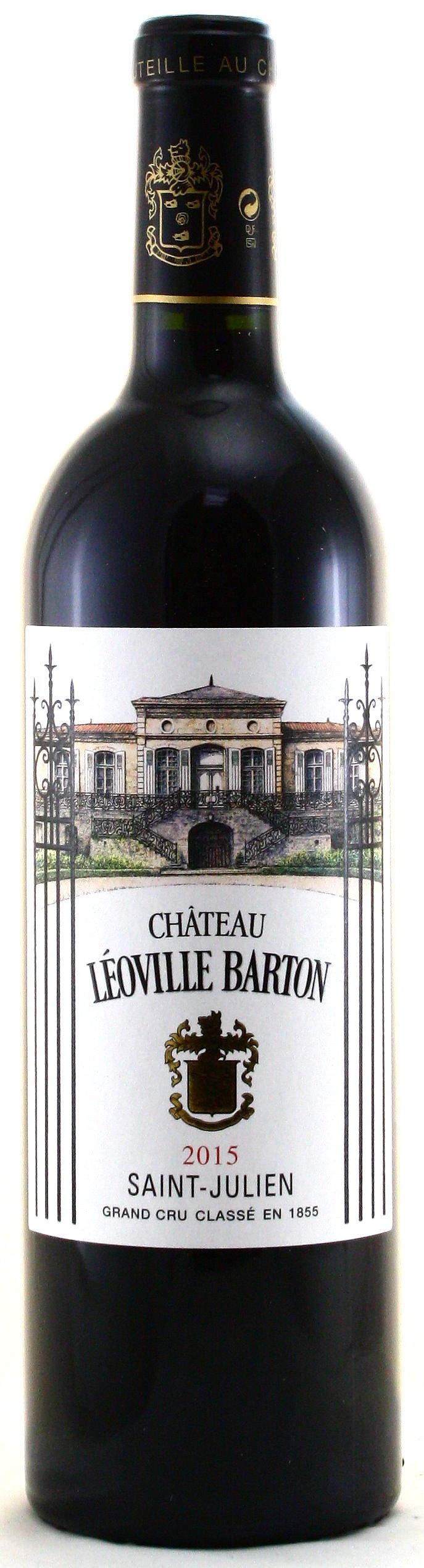 2015 Château Léoville Barton, Saint Julien, Médoc Bordeaux