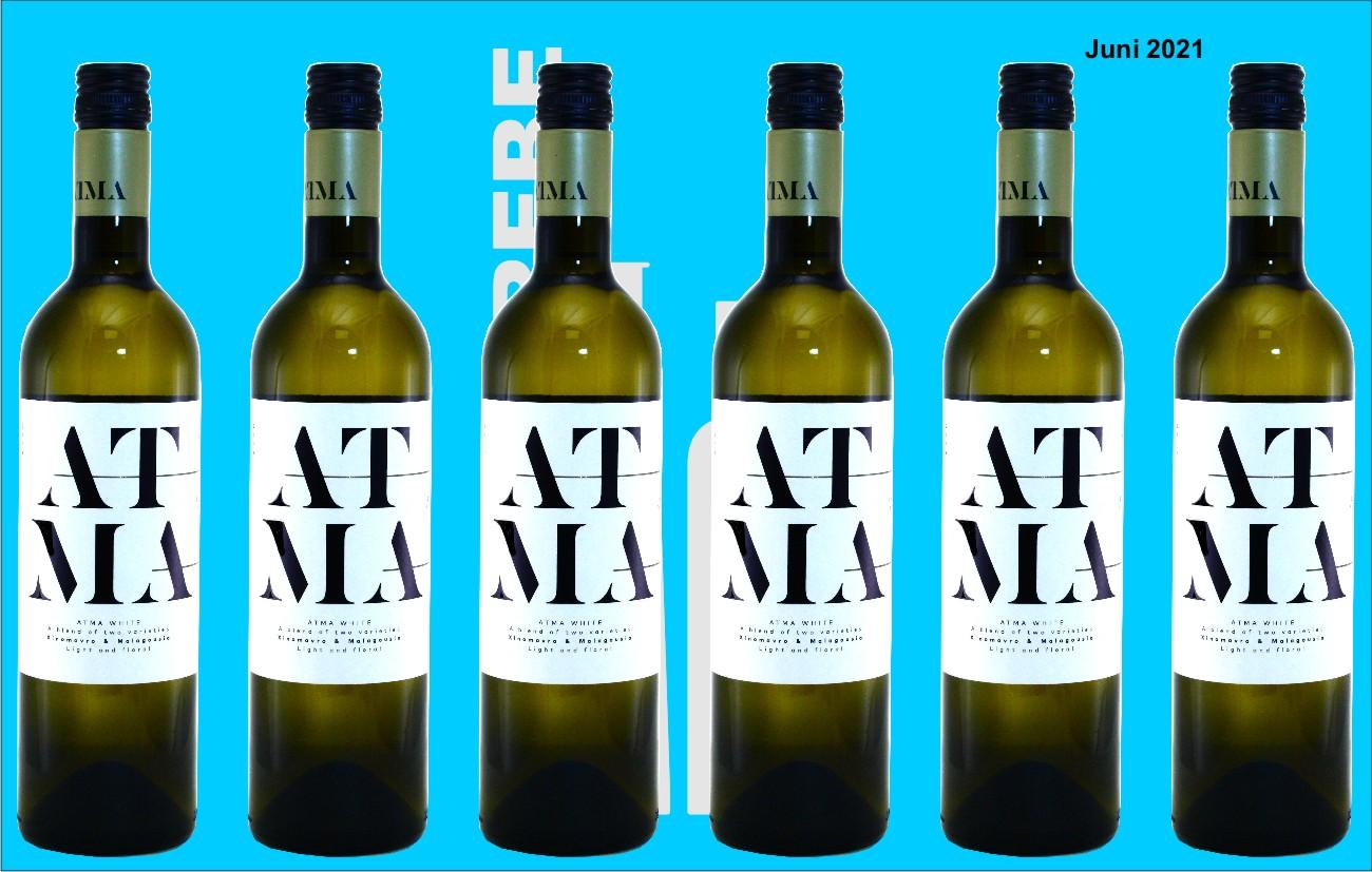 6er Karton 2020 Atma weiss, Thymiopoulos Vineyards, Naoussa, Griechenland