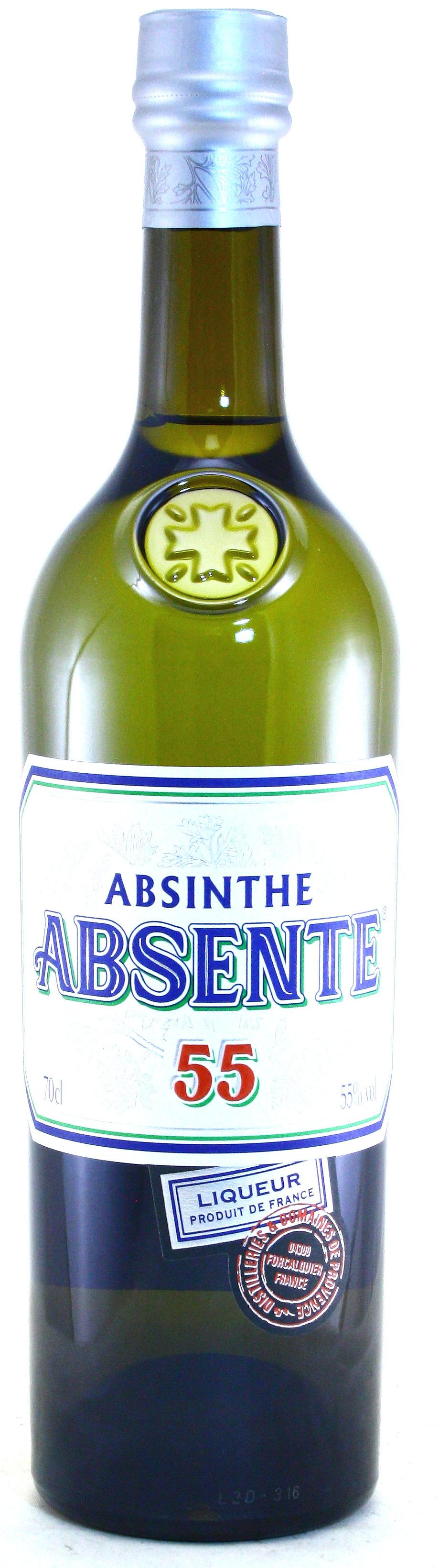 Absente 55, Absinthe, Absinth aus der Provence Henry Bardouin, Frankreich