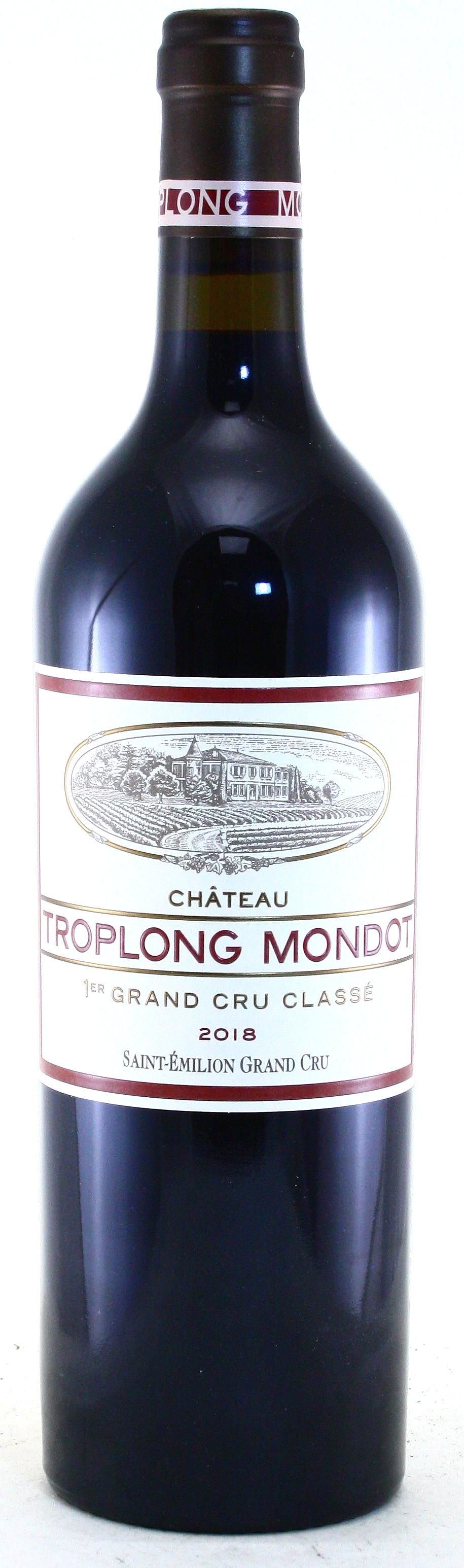 2018 Château Troplong-Mondot, Bordeaux, Saint Émilion