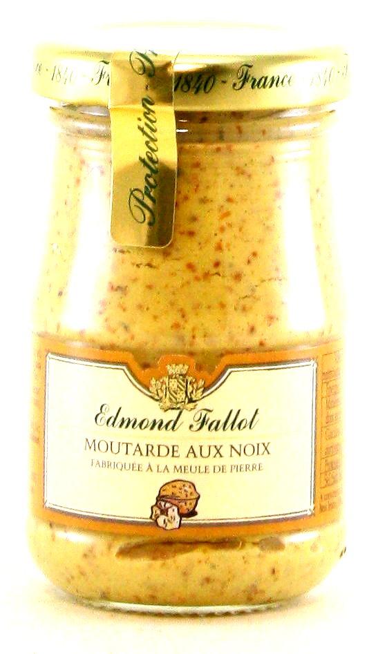 Moutarde aux Noix - Dijon-Senf mit Walnüssen