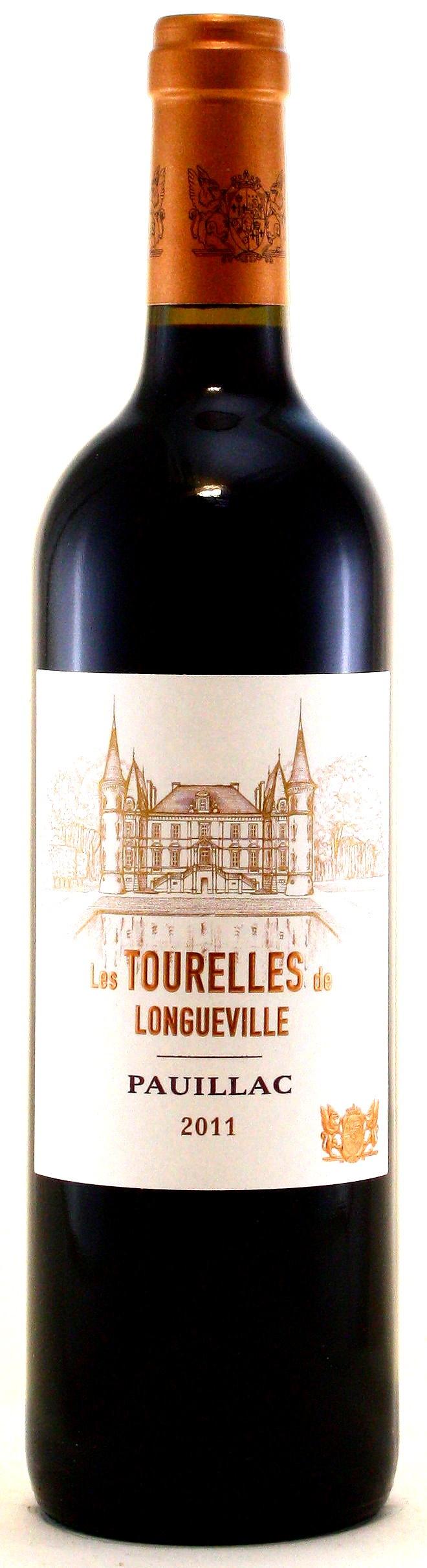 2011 Les Tourelles de Longueville, Zweitwein von Château Pichon-Longueville Baron, Pauillac, Médoc Bordeaux