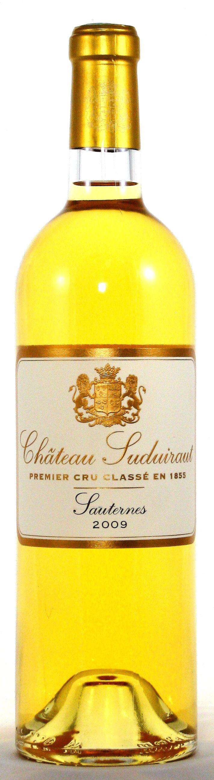2009 Château Suduiraut, Sauternes Grand Cru Classé, Bordeaux