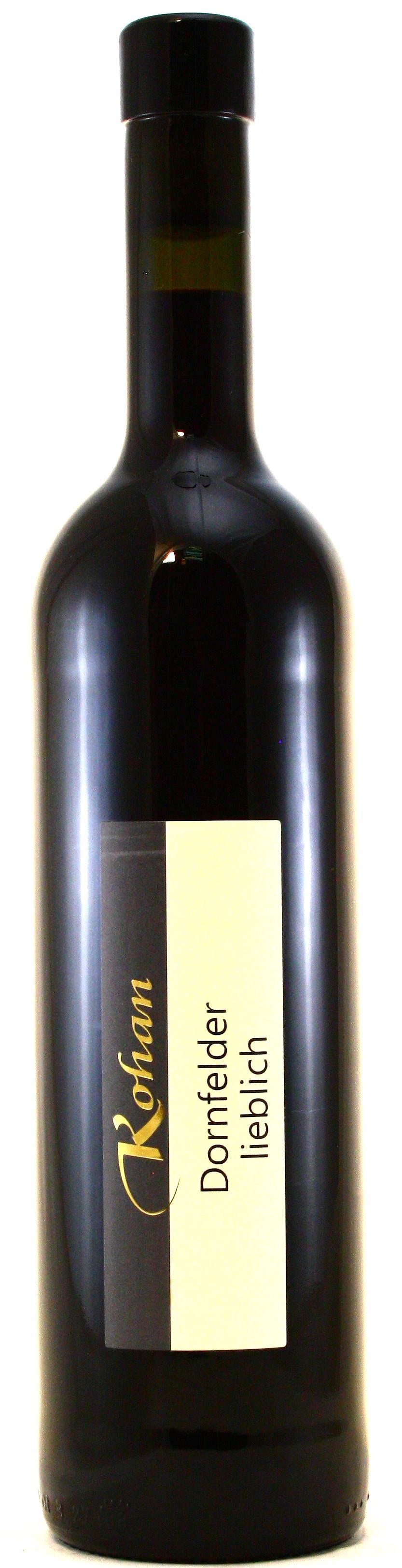 Dornfelder Rotwein lieblich Kohan