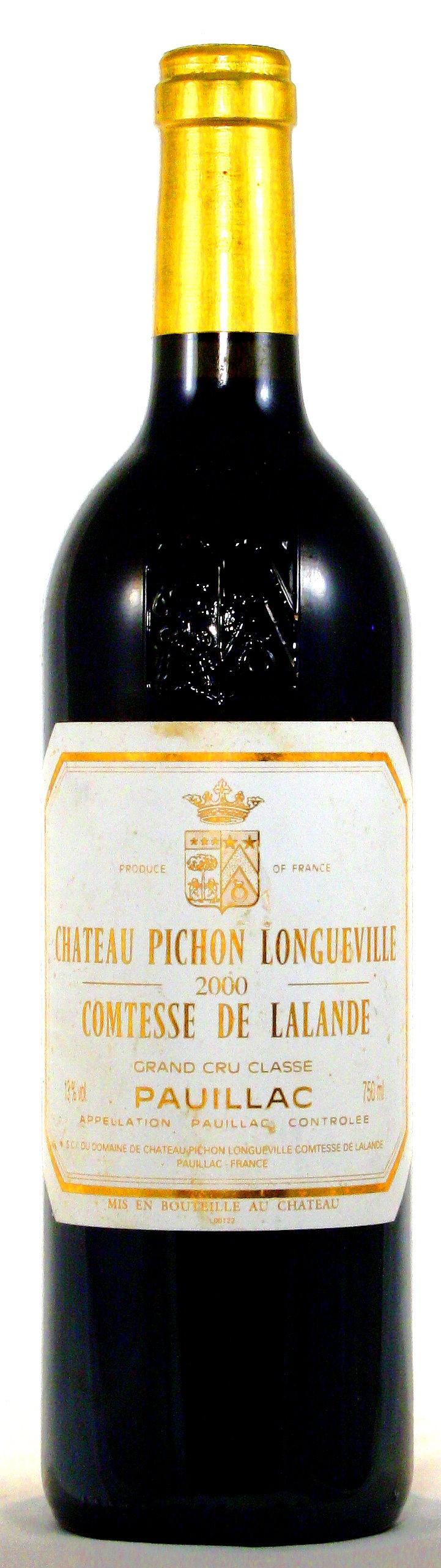 2000 Château Pichon Comtesse de Lalande, Pauillac, Médoc Bordeaux