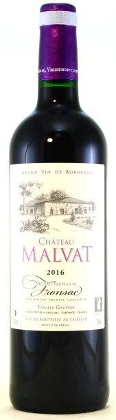 Château Malvat, Fronsac Bordeaux, Château Villars