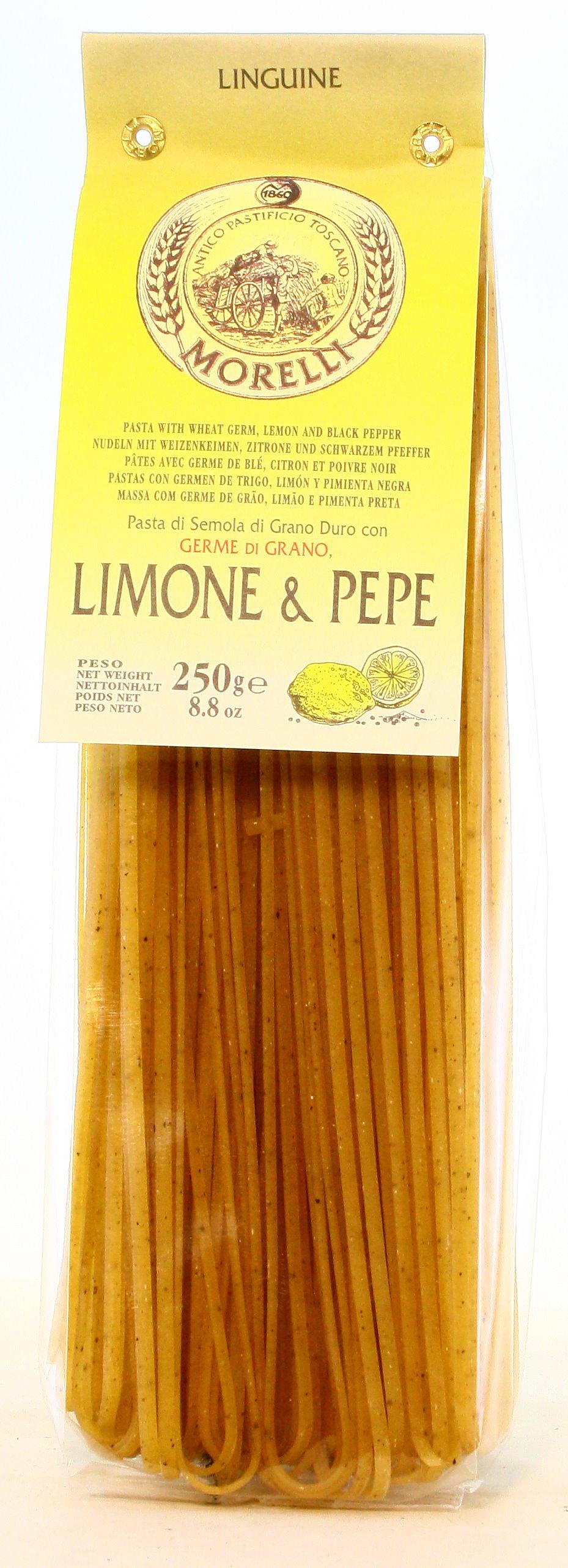 Linguine mit Limone und Pfeffer - Nudeln
