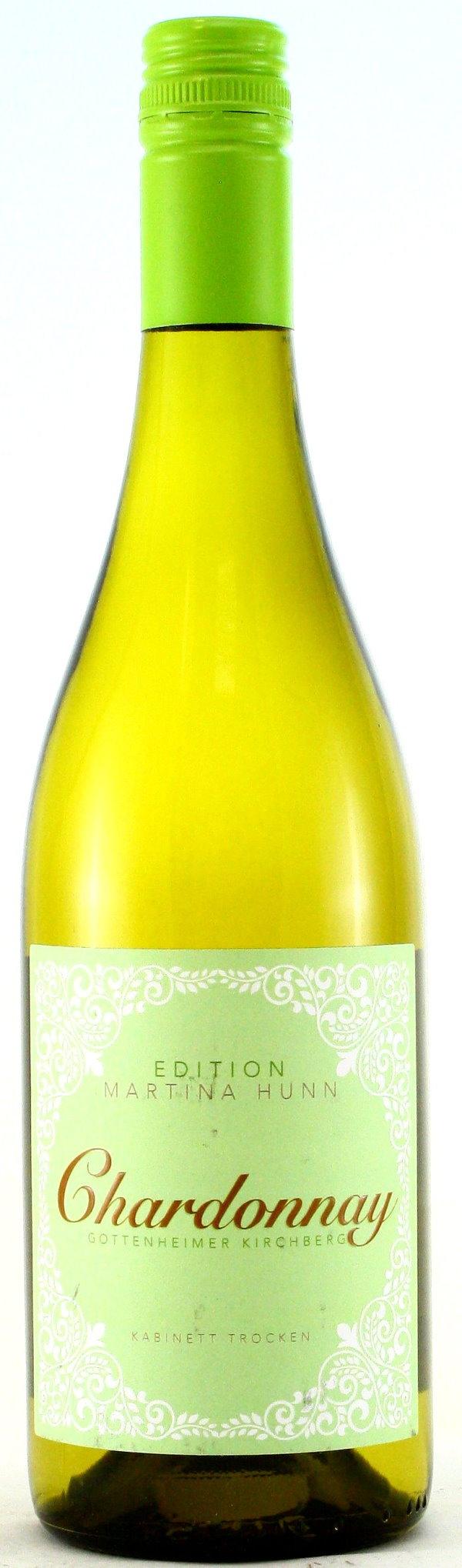 Chardonnay Kabinett trocken, Martina Hunn