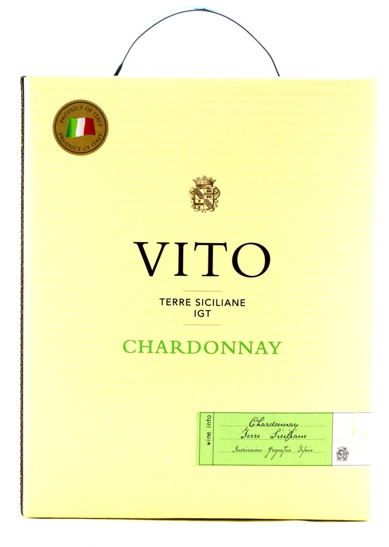 3L Bag-in-Box, Chardonnay, Vito