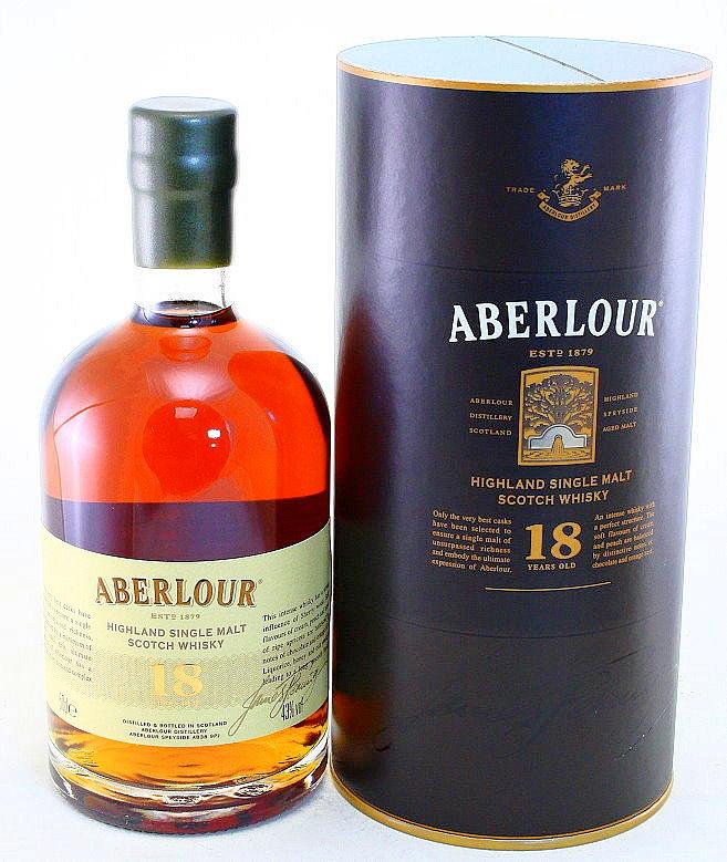Aberlour 18 Years, Single Malt Whisky, Schottland