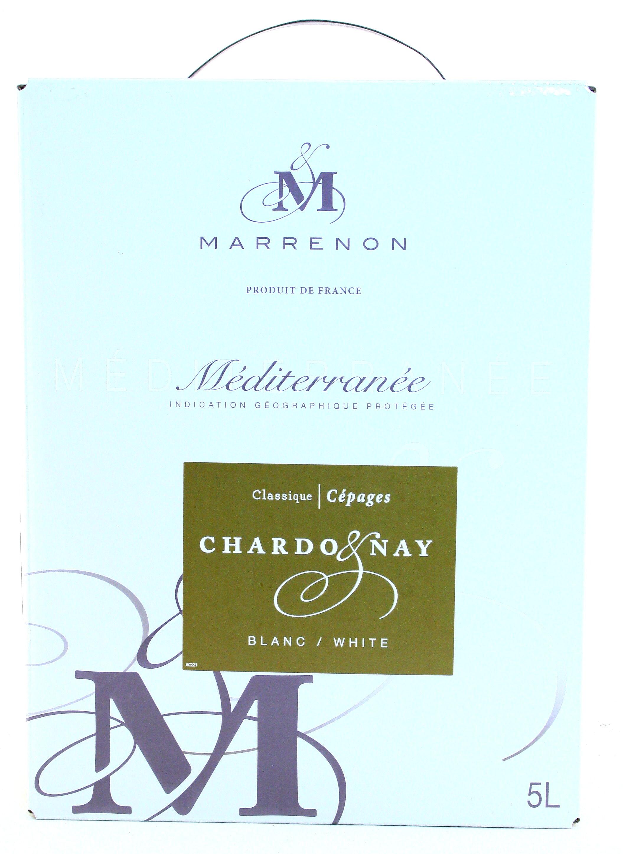 Marrenon Chardonnay, Bag-in-Box