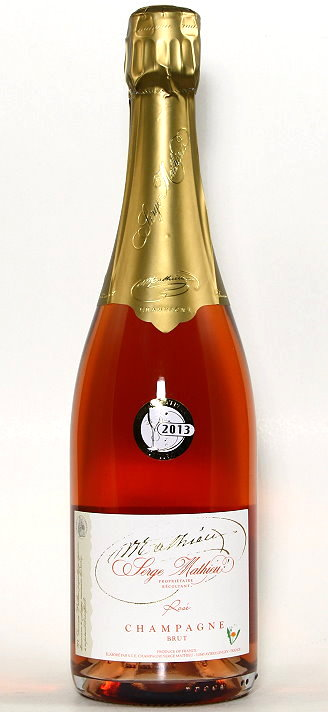 Champagner Rosé Serge Mathieu