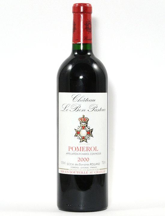 2000 Château Le Bon Pasteur, Pomerol Bordeaux