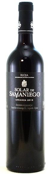 Solar de Samaniego Rioja Crianza, Bodegas Alavesas