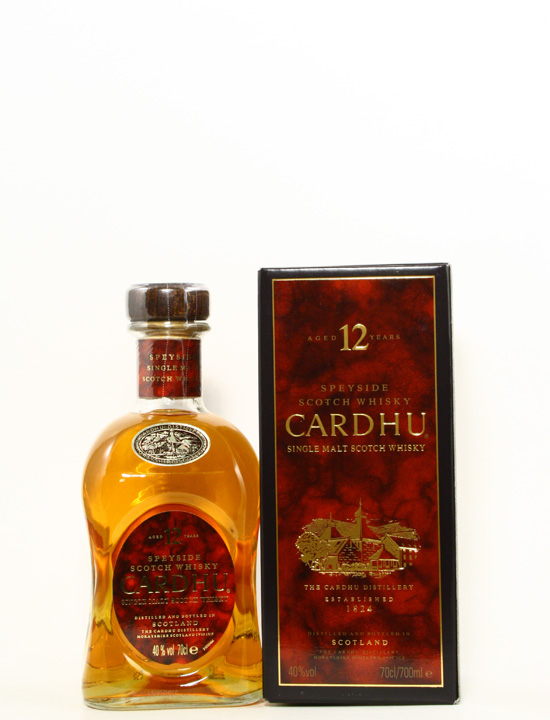 Cardhu 12 Years old Single Malt Whisky