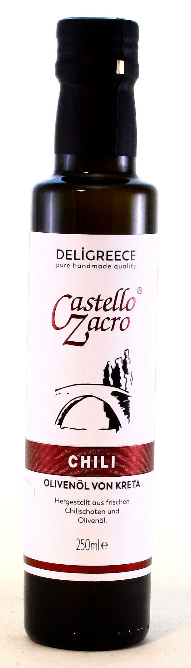 Olivenöl Chili, Castello Zacro