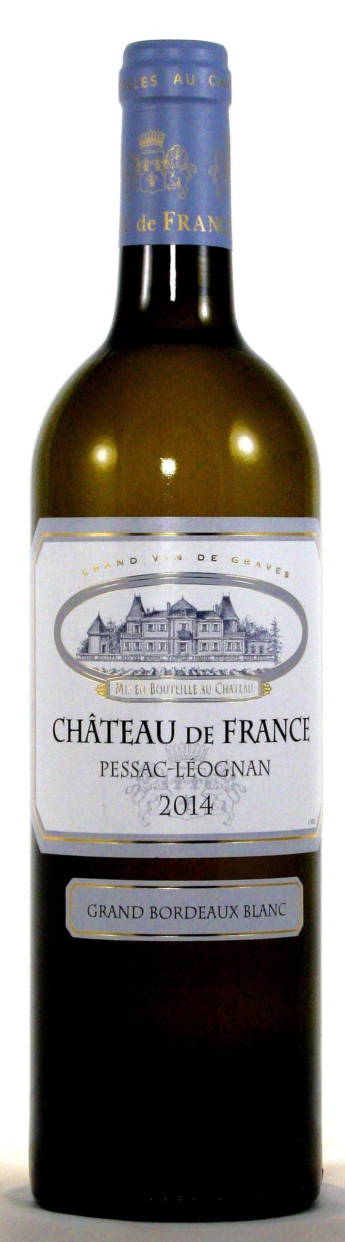 Château de France Blanc, Bordeaux Blanc, Pessac-Léognan