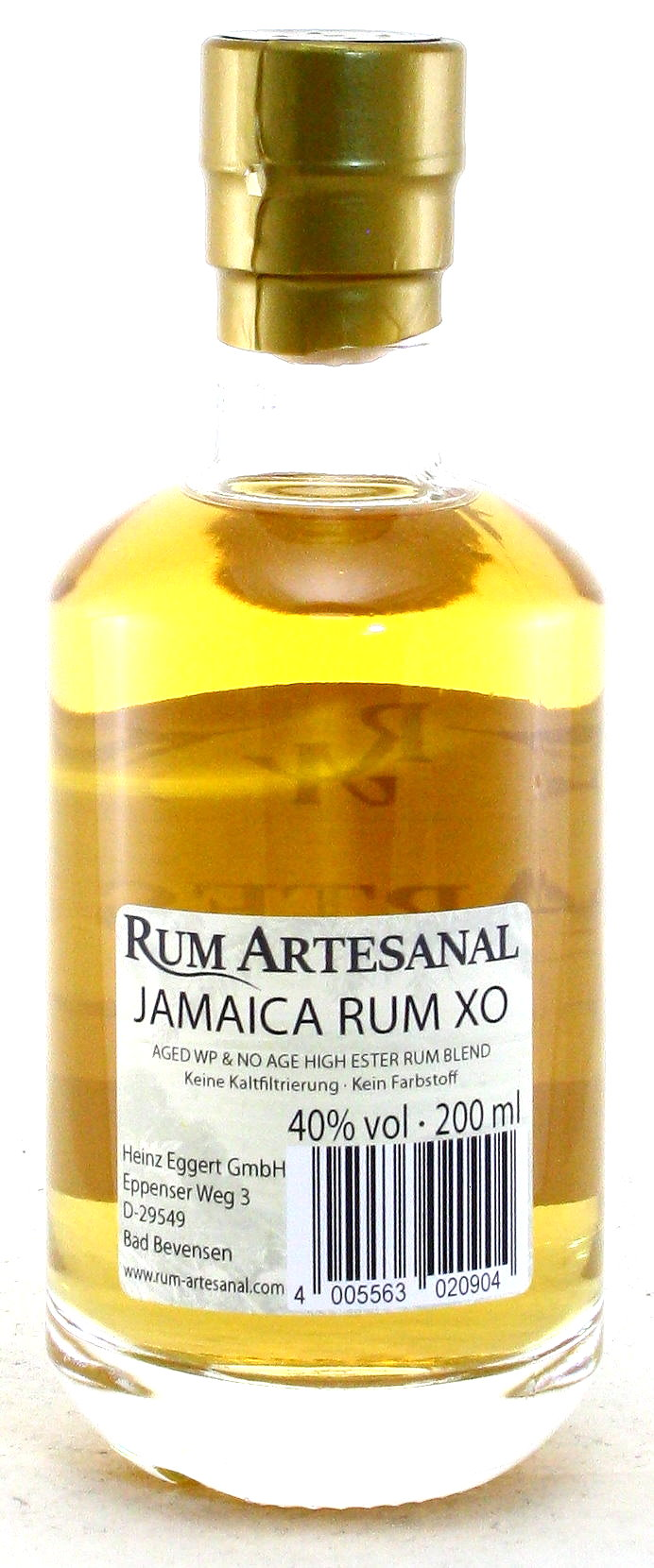200 ml Rum of Jamaica, Rum Artesanal Jamaika