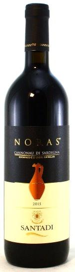 Noras, Cannonau di Sardegna, Cantine Santadi