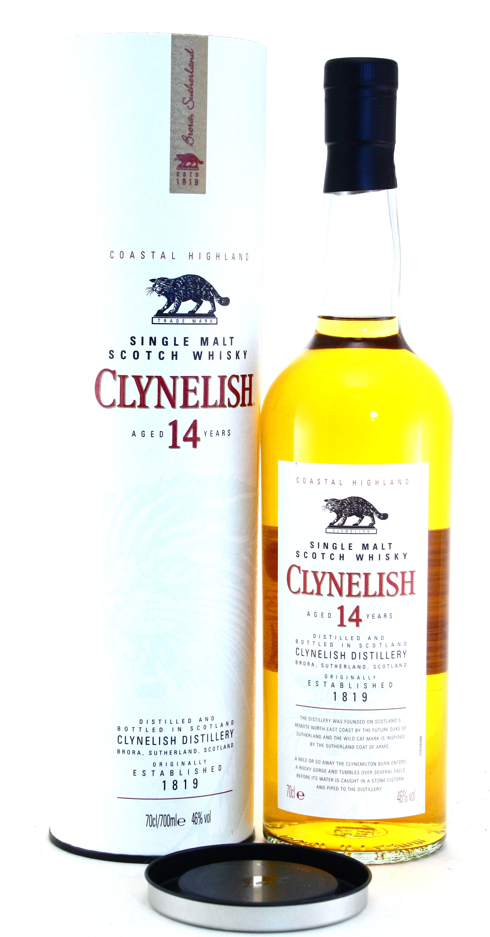 Clynelish 14 Years old Single Malt Whisky