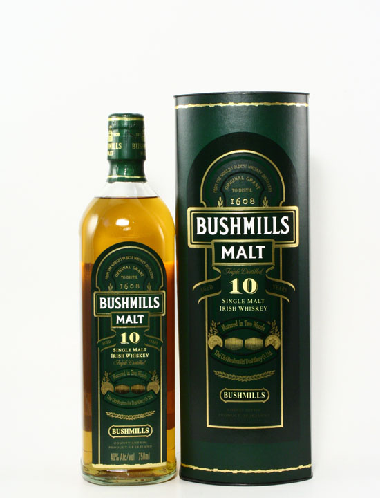 Bushmills Malt Whiskey 10 Years