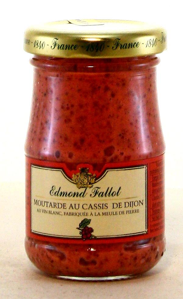 Moutarde au Cassis - Dijon-Senf mit schwarzer Johannisbeere